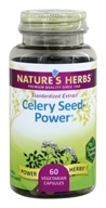 Nature's Herbs - Celery Seed-Power - 60 Capsules