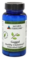 Nature's Formulary - Guggul - 60 Vegetarian Capsules