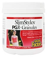 Natural Factors - SlimStyles PGX Granules - 5.3 oz.