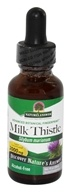 Nature's Answer - Milk Thistle Seed Alcohol Free - 1 oz.