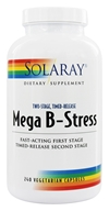 Solaray - Mega B-Stress Two-Stage Timed-Release - 240 Vegetarian Capsules