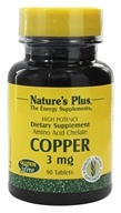 Nature's Plus - Copper 3 mg. - 90 Tablets