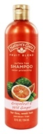 Nature's Gate - Shampoo Organics Fruit Blend Color Protecting Grapefruit & Wild Ginger - 12 oz.