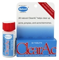 Hylands - Clear-Ac Tablets - 50 Tablets