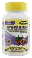 Super Nutrition - Prenatal Blend Antioxidant-Rich Multi-Vitamin/Mineral - 90 Vegetarian Tablets