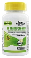 Super Nutrition - Think Clearly - 90 Vegetarian Tablets