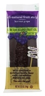 Stretch Island Fruit - All-Natural Fruit Strip Harvest Grape - 0.5 oz. Formerly Original Fruit Leather