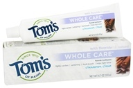 Tom's of Maine - Natural Toothpaste Whole Care With Fluoride Cinnamon Clove - 4.7 oz.
