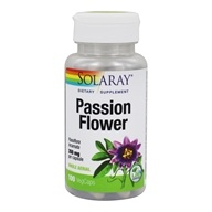 Solaray - Passion Flower 350 mg. - 100 Capsules
