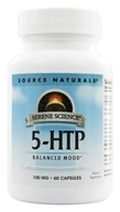 Source Naturals - 5-HTP L-5 Hydroxytryptophan 100 mg. - 60 Capsules