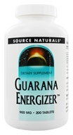 Source Naturals - Guarana Energizer 900 mg. - 200 Tablets