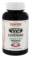 Thayers - Slippery Elm Lozenges Original - 150 Lozenges