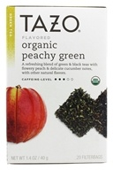 Tazo - Green Tea Organic Peachy - 20 Tea Bags