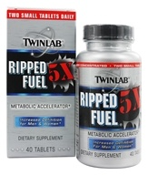 Twinlab - Ripped Fuel 5X Metabolic Accelerator - 40 Tablets
