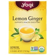 Yogi Tea - Lemon Ginger with Organic Ginger - 16 Tea Bags