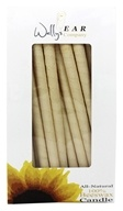 Wally's Natural Products - All-Natural 100% Beeswax Multi-Purpose Hollow Candles - 75 Pack