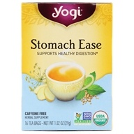 Yogi Tea - Stomach Ease Organic Tea Caffeine Free - 16 Tea Bags
