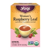 Yogi Tea - Woman's Organic Tea Raspberry Leaf - 16 Tea Bags