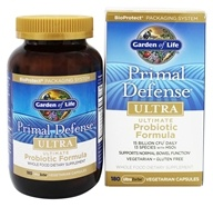 Garden of Life - Primal Defense Ultra Ultimate Probiotic Formula - 180 Vegetarian Capsules