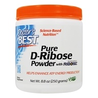 Doctor's Best - Best D-Ribose Featuring BioEnergy Ribose - 8.8 oz.