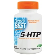 Doctor's Best - Best 5-HTP 100 mg. - 60 Vegetarian Capsules