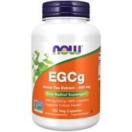 NOW Foods - EGCg Green Tea Extract Antioxidant Support - 180 Vegetarian Capsules