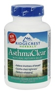 Ridgecrest Herbals - AsthmaClear Natural Asthma Relief - 60 Vegan Caps