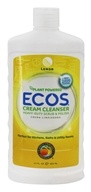 Earth Friendly - Creamy Cleanser Multi-Use Non-Abrasive Cleaner Natural Lemon - 17 oz.