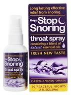 Essential Health - Helps Stop Snoring Throat Spray Clinically Proven Formula - 2 oz.