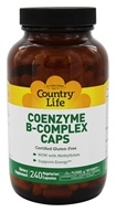 Country Life - Coenzyme B-Complex Caps - 240 Vegetarian Capsules