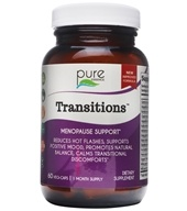 Pure Essence Labs - Transitions Herbs For Menopause - 60 Vegetarian Capsules