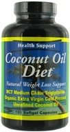Health Support - Coconut Oil Diet - 180 Softgels