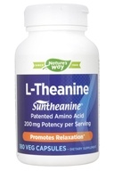 Enzymatic Therapy - L-Theanine Suntheanine - 180 Vegetarian Capsules