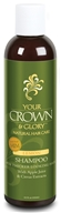 Your Crown and Glory - Just For Him Shampoo Natural Hair Care Lemon - 8.5 oz.