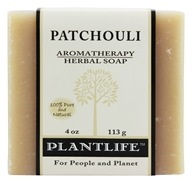 Plantlife Natural Body Care - Aromatherapy Herbal Soap Patchouli - 4 oz.