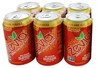 Zevia - All Natural Soda Sweetened with Stevia 12 oz. Cans Orange Flavor - 24 Pack