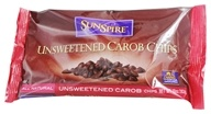 SunSpire - Carob Chips Unsweetened - 10 oz.