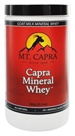Mt. Capra Products - Capra Goat Milk Mineral Whey - 12.7 oz.
