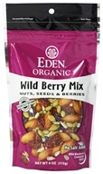 Eden Foods - Organic Wild Berry Mix Nuts, Seeds & Berries - 4 oz.