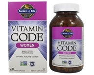 Garden of Life - Vitamin Code RAW Women's Multi Formula - 240 Vegetarian Capsules