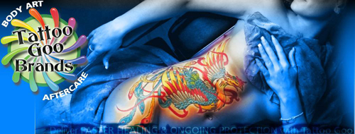 Buy tattoo goo color guard tattoo protection stick with for Sunscreen new tattoo