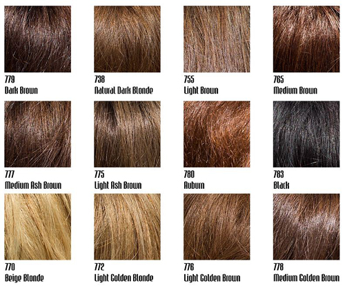 light golden blonde light golden brown and medium golden brown